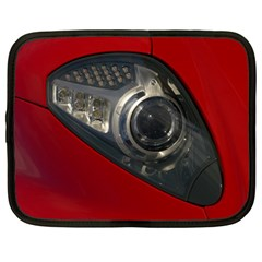 Auto Red Fast Sport Netbook Case (Large)