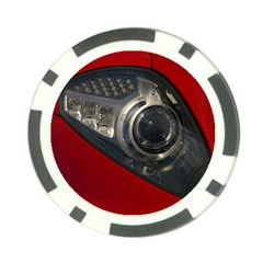 Auto Red Fast Sport Poker Chip Card Guards (10 pack)