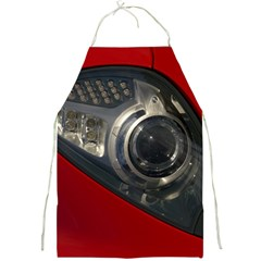 Auto Red Fast Sport Full Print Aprons