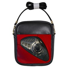 Auto Red Fast Sport Girls Sling Bags