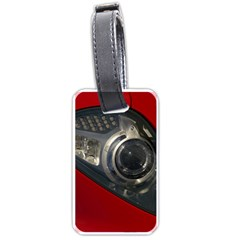 Auto Red Fast Sport Luggage Tags (One Side)