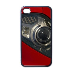 Auto Red Fast Sport Apple iPhone 4 Case (Black)