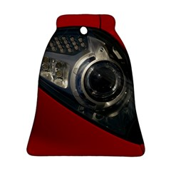 Auto Red Fast Sport Bell Ornament (2 Sides)