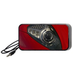 Auto Red Fast Sport Portable Speaker (Black)