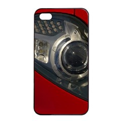 Auto Red Fast Sport Apple iPhone 4/4s Seamless Case (Black)
