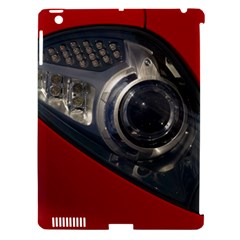 Auto Red Fast Sport Apple iPad 3/4 Hardshell Case (Compatible with Smart Cover)