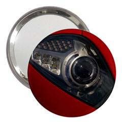 Auto Red Fast Sport 3  Handbag Mirrors