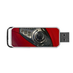 Auto Red Fast Sport Portable USB Flash (Two Sides)