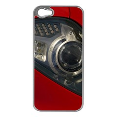 Auto Red Fast Sport Apple iPhone 5 Case (Silver)
