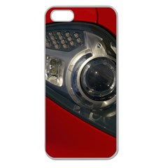 Auto Red Fast Sport Apple Seamless iPhone 5 Case (Clear)