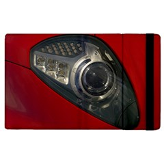 Auto Red Fast Sport Apple iPad 3/4 Flip Case