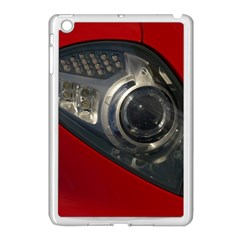 Auto Red Fast Sport Apple iPad Mini Case (White)