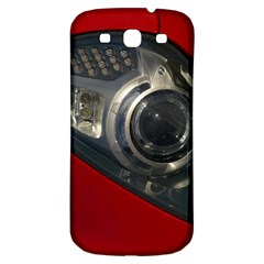 Auto Red Fast Sport Samsung Galaxy S3 S III Classic Hardshell Back Case