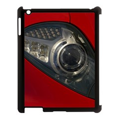 Auto Red Fast Sport Apple iPad 3/4 Case (Black)