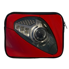 Auto Red Fast Sport Apple iPad 2/3/4 Zipper Cases
