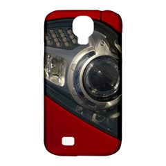 Auto Red Fast Sport Samsung Galaxy S4 Classic Hardshell Case (PC+Silicone)