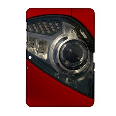 Auto Red Fast Sport Samsung Galaxy Tab 2 (10.1 ) P5100 Hardshell Case
