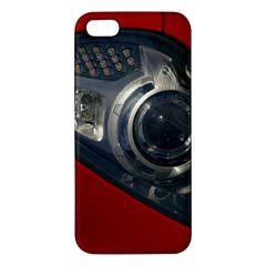 Auto Red Fast Sport iPhone 5S/ SE Premium Hardshell Case