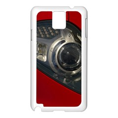 Auto Red Fast Sport Samsung Galaxy Note 3 N9005 Case (White)