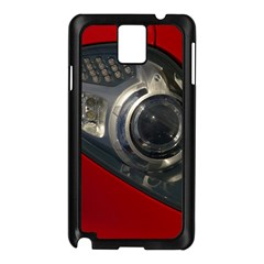 Auto Red Fast Sport Samsung Galaxy Note 3 N9005 Case (Black)