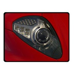 Auto Red Fast Sport Double Sided Fleece Blanket (Small)