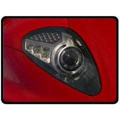 Auto Red Fast Sport Double Sided Fleece Blanket (Large)