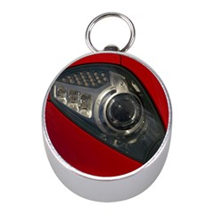 Auto Red Fast Sport Mini Silver Compasses
