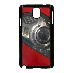 Auto Red Fast Sport Samsung Galaxy Note 3 Neo Hardshell Case (Black)