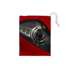 Auto Red Fast Sport Drawstring Pouches (Small)