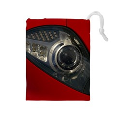 Auto Red Fast Sport Drawstring Pouches (Large)