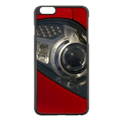 Auto Red Fast Sport Apple iPhone 6 Plus/6S Plus Black Enamel Case