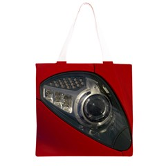 Auto Red Fast Sport Grocery Light Tote Bag