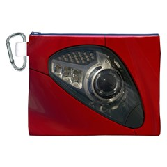 Auto Red Fast Sport Canvas Cosmetic Bag (XXL)