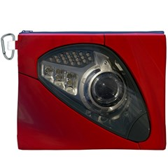 Auto Red Fast Sport Canvas Cosmetic Bag (XXXL)