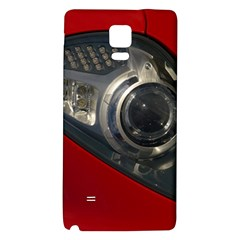 Auto Red Fast Sport Galaxy Note 4 Back Case