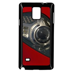 Auto Red Fast Sport Samsung Galaxy Note 4 Case (Black)