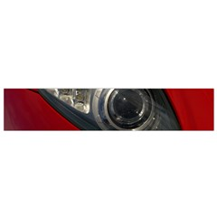 Auto Red Fast Sport Flano Scarf (Small)
