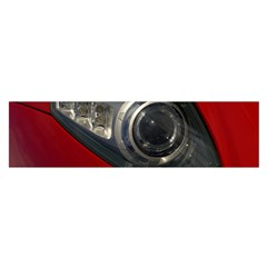Auto Red Fast Sport Satin Scarf (Oblong)