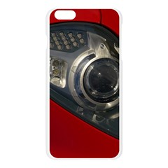 Auto Red Fast Sport Apple Seamless iPhone 6 Plus/6S Plus Case (Transparent)