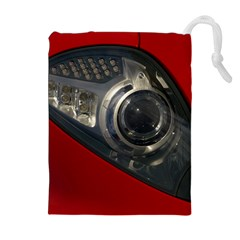 Auto Red Fast Sport Drawstring Pouches (Extra Large)