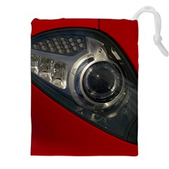 Auto Red Fast Sport Drawstring Pouches (XXL)