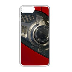 Auto Red Fast Sport Apple iPhone 7 Plus White Seamless Case