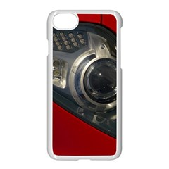 Auto Red Fast Sport Apple iPhone 7 Seamless Case (White)