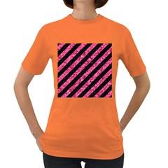 STR3 BK-PK MARBLE Women s Dark T-Shirt