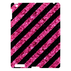 STR3 BK-PK MARBLE Apple iPad 3/4 Hardshell Case