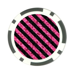 STR3 BK-PK MARBLE (R) Poker Chip Card Guards (10 pack)