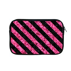 Stripes3 Black Marble & Pink Marble (r) Apple Macbook Pro 13  Zipper Case