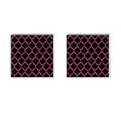 TIL1 BK-PK MARBLE Cufflinks (Square)