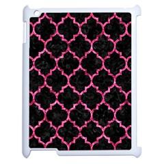 TIL1 BK-PK MARBLE Apple iPad 2 Case (White)