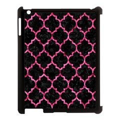 TIL1 BK-PK MARBLE Apple iPad 3/4 Case (Black)
